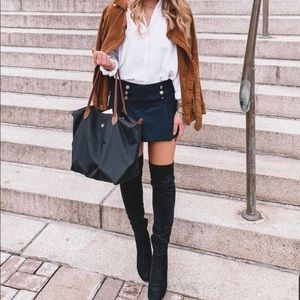 Charles David Ollie Over-The-Knee Lace- up Boots